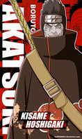 Naruto Wallpapers Mobile : Kisame | Akatsuki by Fadil089665