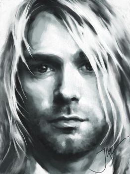 KURT COBAIN by JALpix
