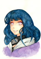 Hinata Watercolor by yumi1827