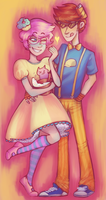 Trickster babes by GhostlyStatic