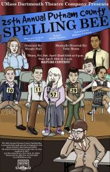 New Spelling Bee Poster by SuburbanFreeflow
