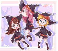 Little witch academia by Minaru-Art
