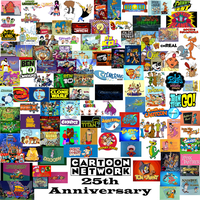 Cartoon Network 25th Anniversary Collage by ToonGamer23