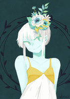 Mint and Gold by adirosa