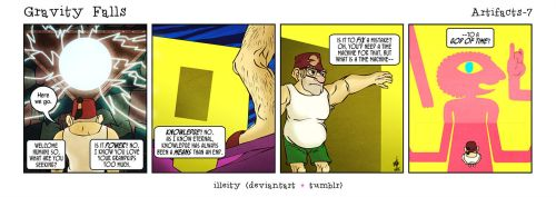 Gravity Falls: Artifacts 7 by illeity