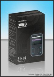 Packaging Creative Zen Mp3 by Ishcrom