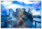 Other Worldly Castle - Final Print Edition by DigitalMediaMagic