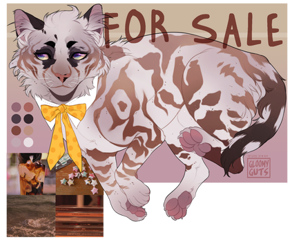 ( FLASH AUCTION ) White Russian Adoptable - Closed by gloomyguts