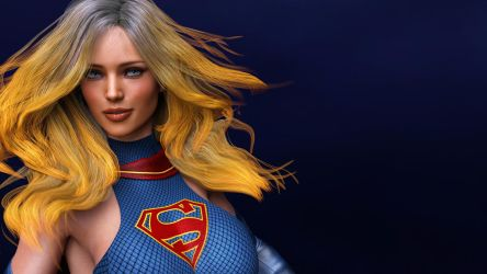 SuperGirl-Face by Sombra1717