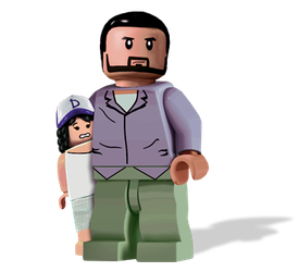 Lego The Walking Dead the Game by Irishmile