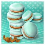 Mint Chocolate Macarons by ScarletWarmth