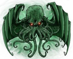 Cthulhu fhtagn by Barguest