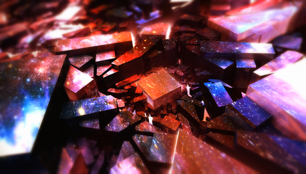 Mirrors of The Space by LukasFractalizator