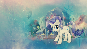Wallpaper: Crystal Rarity by MadBlackie