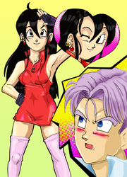 Trunks reaction by liaartemisa