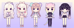 More Adopts: CLOSED by MyuHime