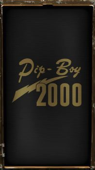 Pipboy 2000 Classic (Amber) by sitrirokoia