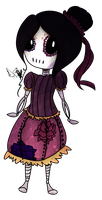 [Graveyard Cuties] Sugar Skull by OpalesquePrincess