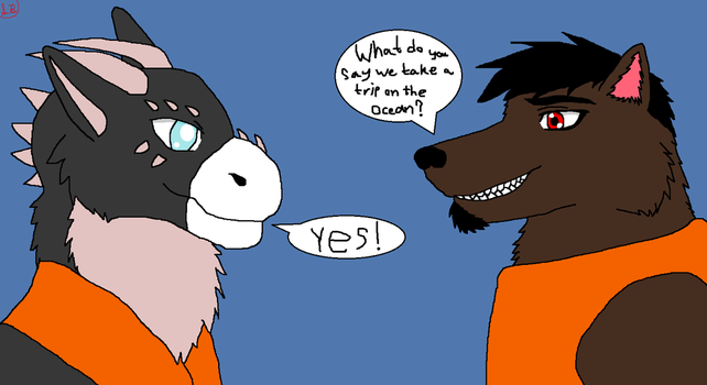 Ludo and Jared Fun Ideas by WolfmasterArreis