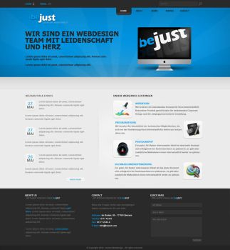 beJust Portfolio by h1xndesign