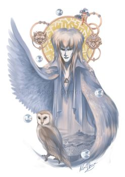 The Lord of the Labyrinth by nuriaabajo