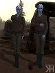 Liara Autumn Casual Outfit (XPS) by Grummel83