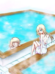 A Relaxing Bath by Dr-Toszi