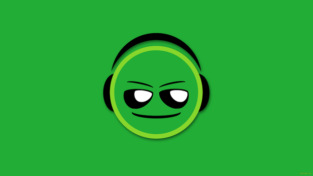 Smiley Headphone Wallpaper-1920x1080 by chiefwrigley