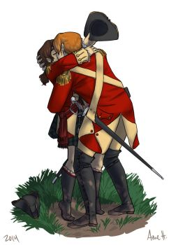 George x Fen, Soldiers' Kiss by ninniku