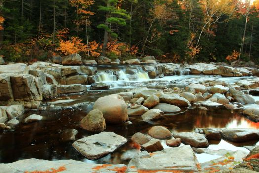 Stock: Lower Falls Wideview by Celem