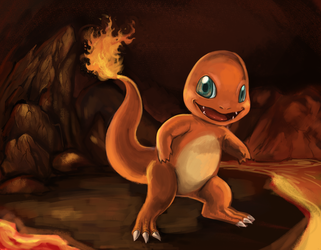 #4 Charmander by marinasanc