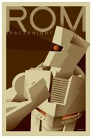 rom tribute poster by strongstuff