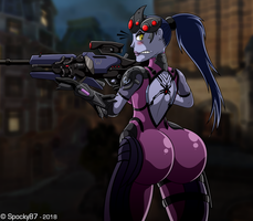 Widowmaker Butt by Spocky87