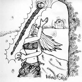 Wand Forger by Beyond-insane