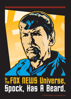 Fox Spock by MercenaryGraphics