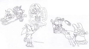 Mario and Sonic - Rivals by MrNintMan