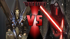 Reaper vs Kylo Ren by Dynamo1212