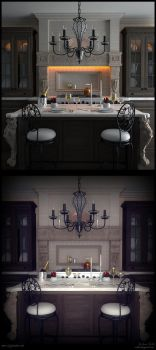 Classic Kitchen by xsekox