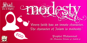 The Greater Jihad: Modesty by DigitallyDestined