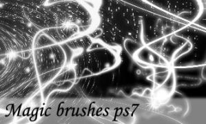 ms113-magic brushes ps7 by mystify-stock