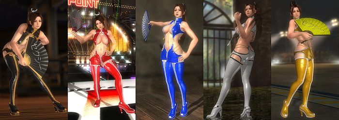 DOA5LR Mod: Sexy Leather Suit (NEW) by repinscourge