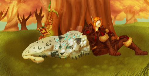 Commission: Napping by FatVonD