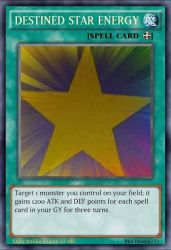 My YGO card: Destined Star Energy  by multidude233