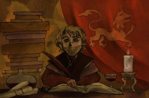 I am only a little lion... (Tyrion Lannister) by SmudgeThistle