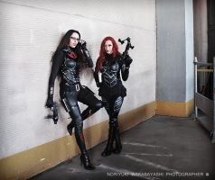 The Baroness and Scarlett by Daelyth