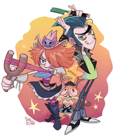 Long Gone Gulch! by hakutooon