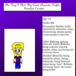 Character Profile- Roselyn by anilovespeace