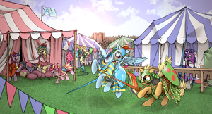Grand tournament by ModeratelyDeviant