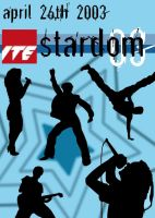 Stardom 03 programme cover by mortichro