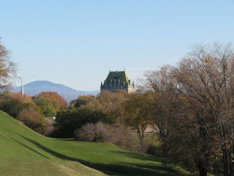 Chateau Frontenac by nepasavaler